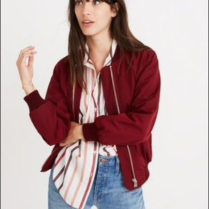 Madewell Side Zip Comber Jacket NEW